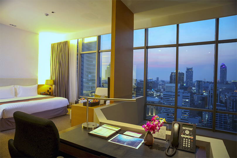 the most popular 2 bedroom suites in bangkok live